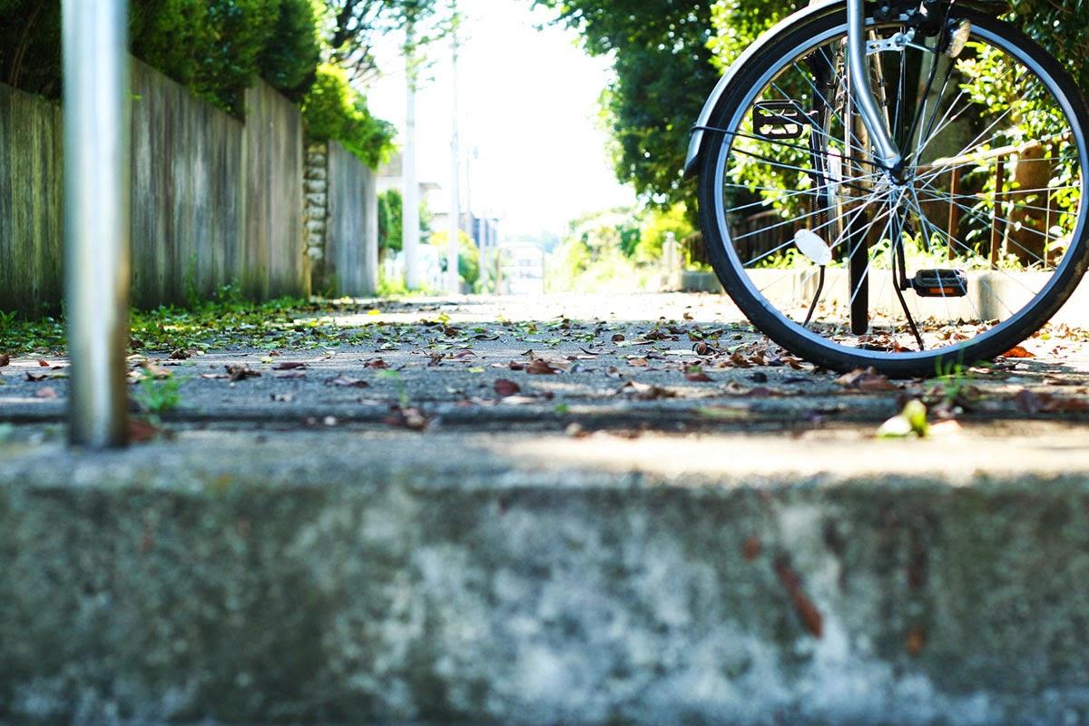... : 盗難自転車に、出会ったら