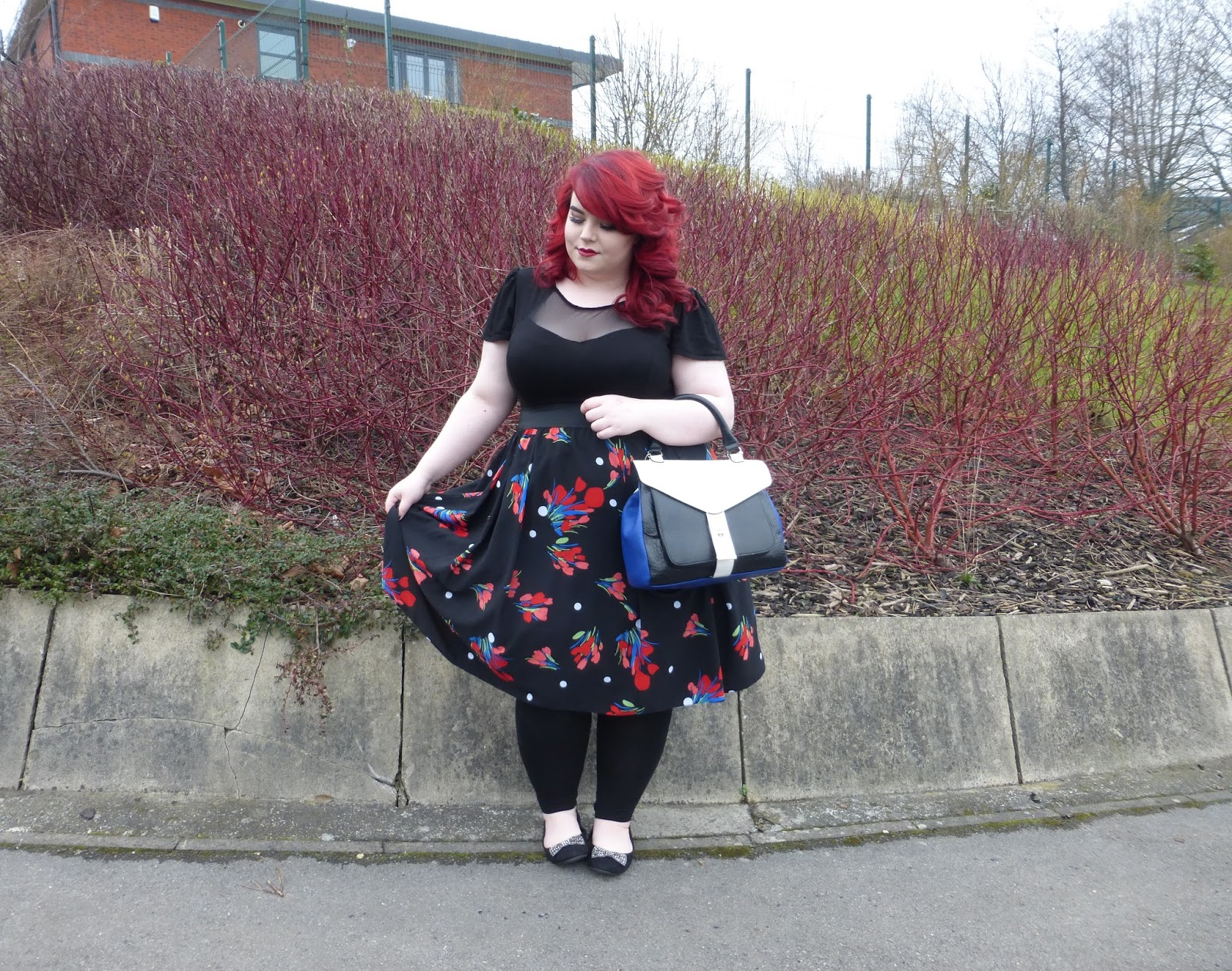 Accessorising with Scarlett & Jo, House of Fraser, Shoe Zone, shemightbeloved, sheffield plus size blogger, georgina grogan
