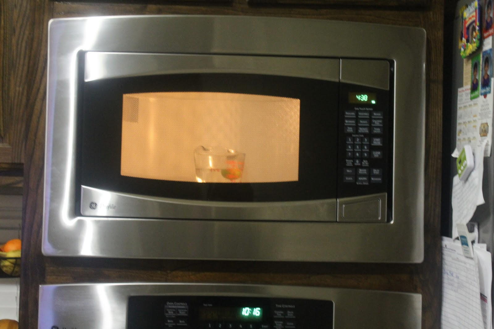 Vineelasiva tip of the day 7 how to clean microwave oven - Clean oven tray less minute ...