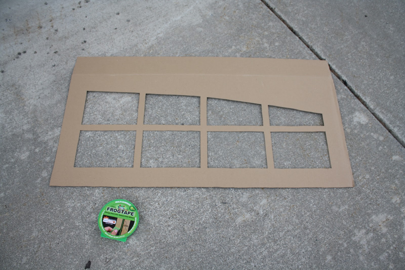 repaint the garage door. (If you need to...my garage door needed ...