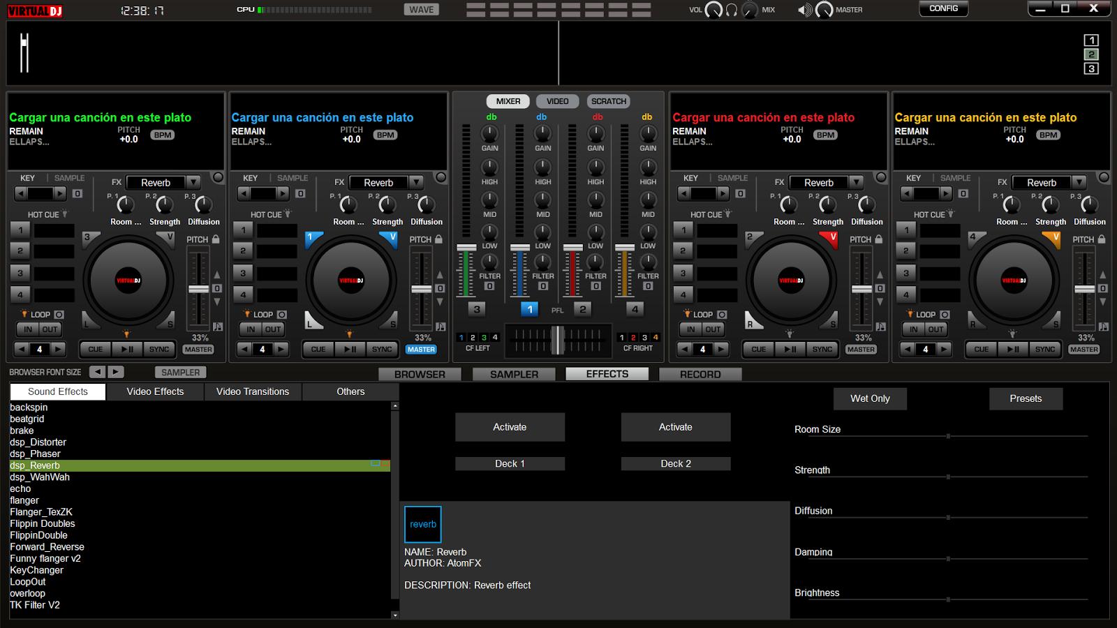 ������ ������ ��������� ���� ������� �����������Virtual DJ Pro 7.4.1 Build 482