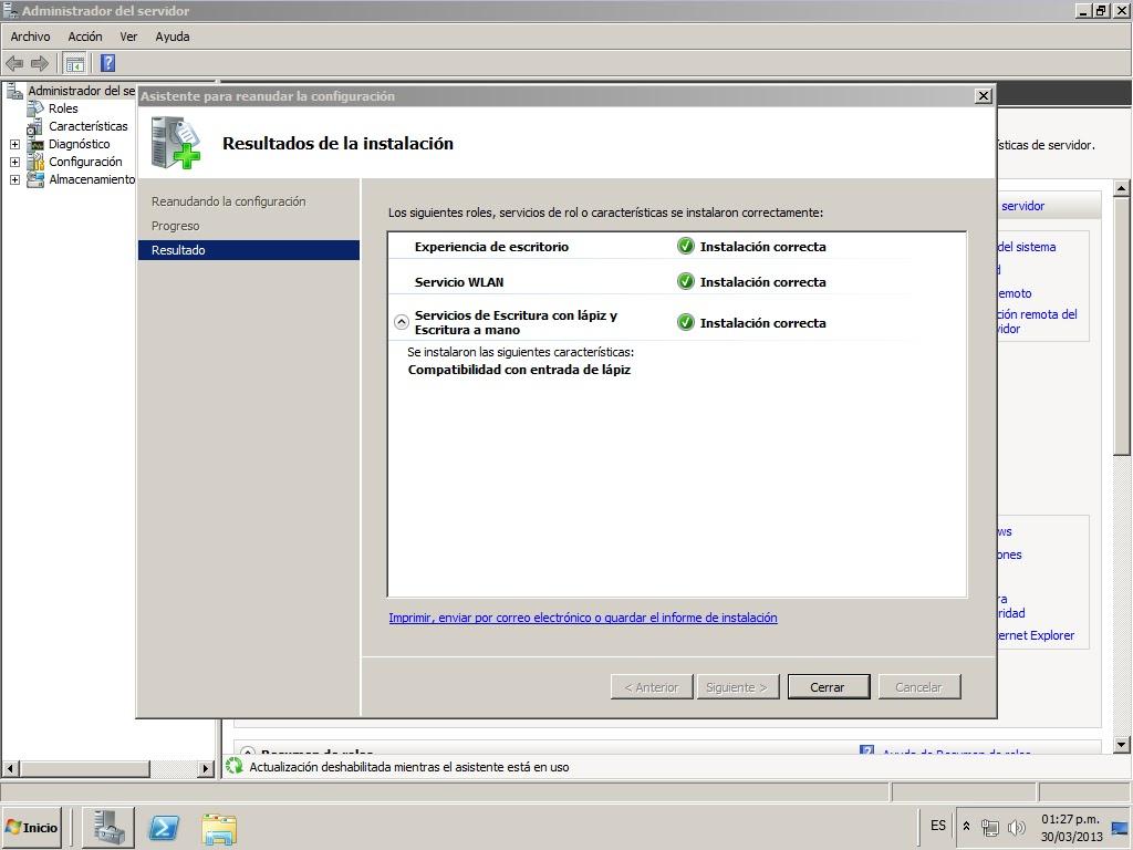 Convertir Windows Server 2008 R2 en una estacion de trabajo ...