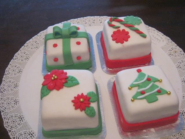 Tortas navide as for Tortas decoradas faciles