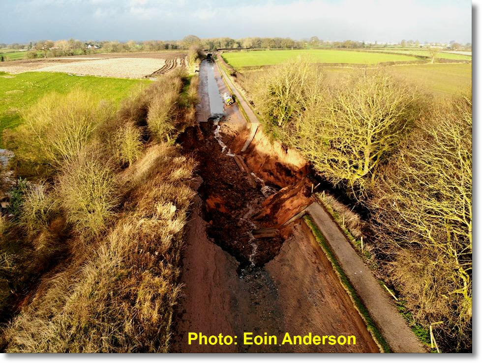 THE MIDDLEWICH CANAL BREACH, MARCH 2018