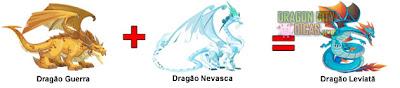 Dragão Leviatã - Cruzamentos