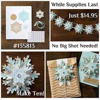 Festive Flurry Ornament Kit