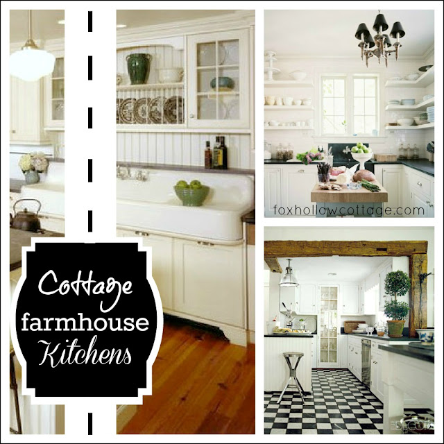 Cottage farmhouse kitchens inspiring in white fox for Farmhouse kitchen ideas