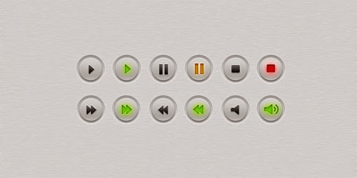 25 Best Free PSD Buttons For Web Designers