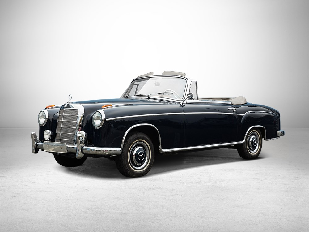 All cars nz 1958 mercedes benz 220s ponton convertible for 1958 mercedes benz 220s for sale