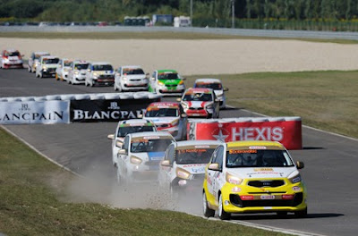 Mistrzostwa Polski Kia Picanto na Slovakiaring