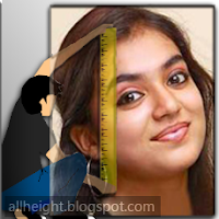 Nazriya Nazim Height - How Tall