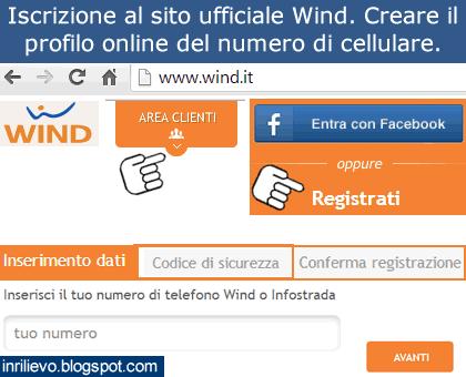 iscrizione wind