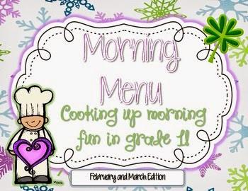 Morning Menu Feb./Mar.