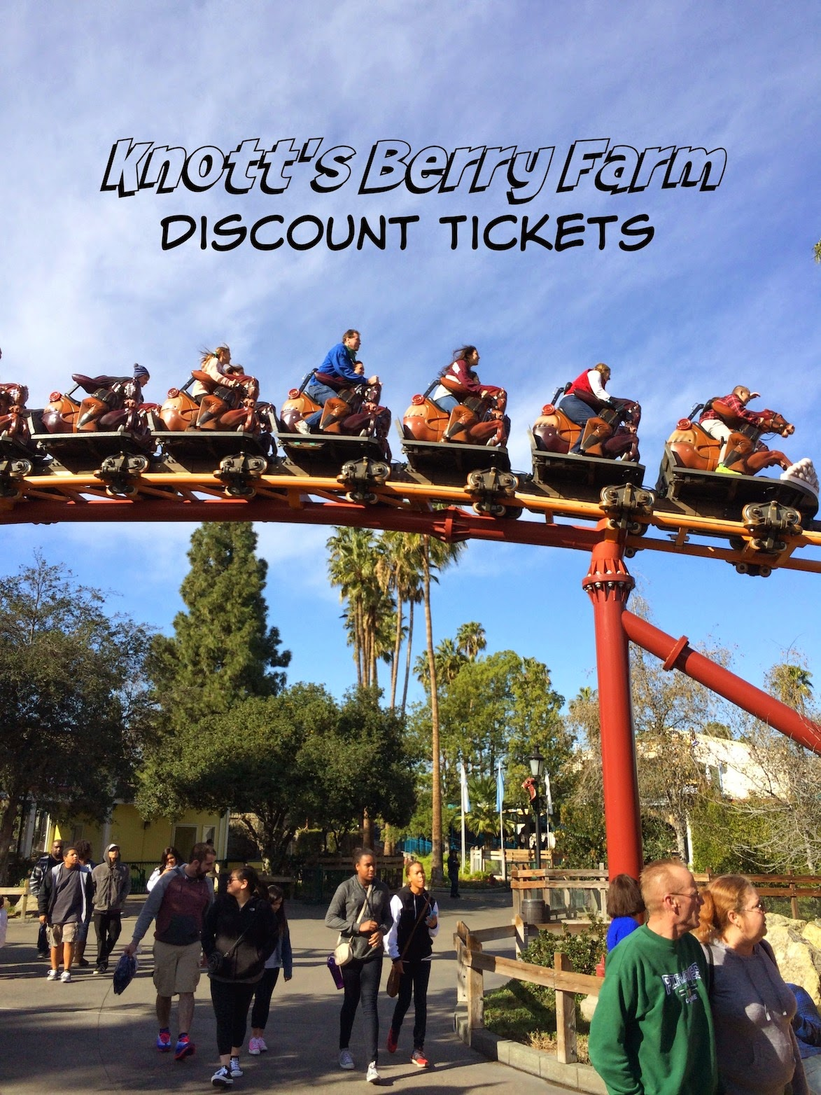 "Nov 22,  · Knott's Berry Farm Any Day Discount Tickets $41 { Deal Details } (reg. $45 – $75) *Editor's Pick* Fees are only $2 with this source. These not only include Knott's Scary Farm and Knott's Merry Farm, they are ""Any Day"" tickets valid whenever you want to use them, now through December."