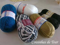 Através de um novelinho de lã ...