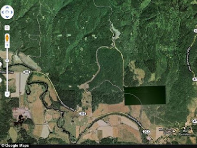 Enam Lokasi Rahasia Yang Disembunyikan Google Earth