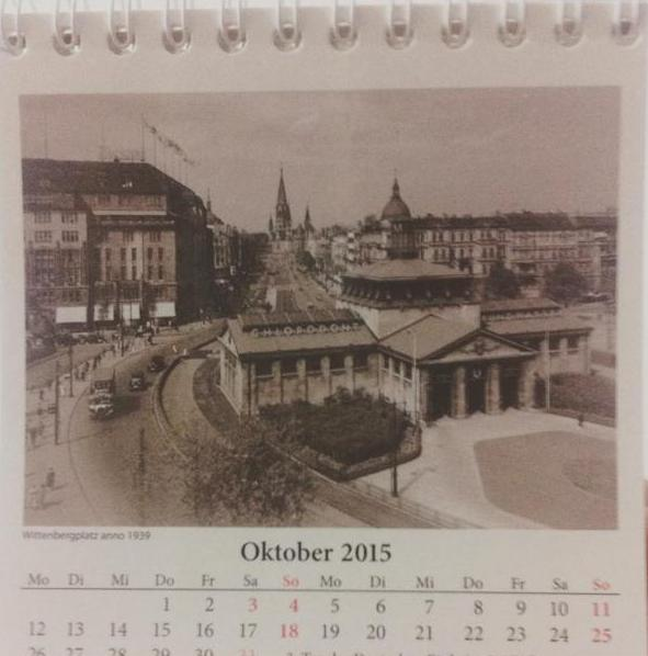 Wittenbergplatz, Berlim em 1939