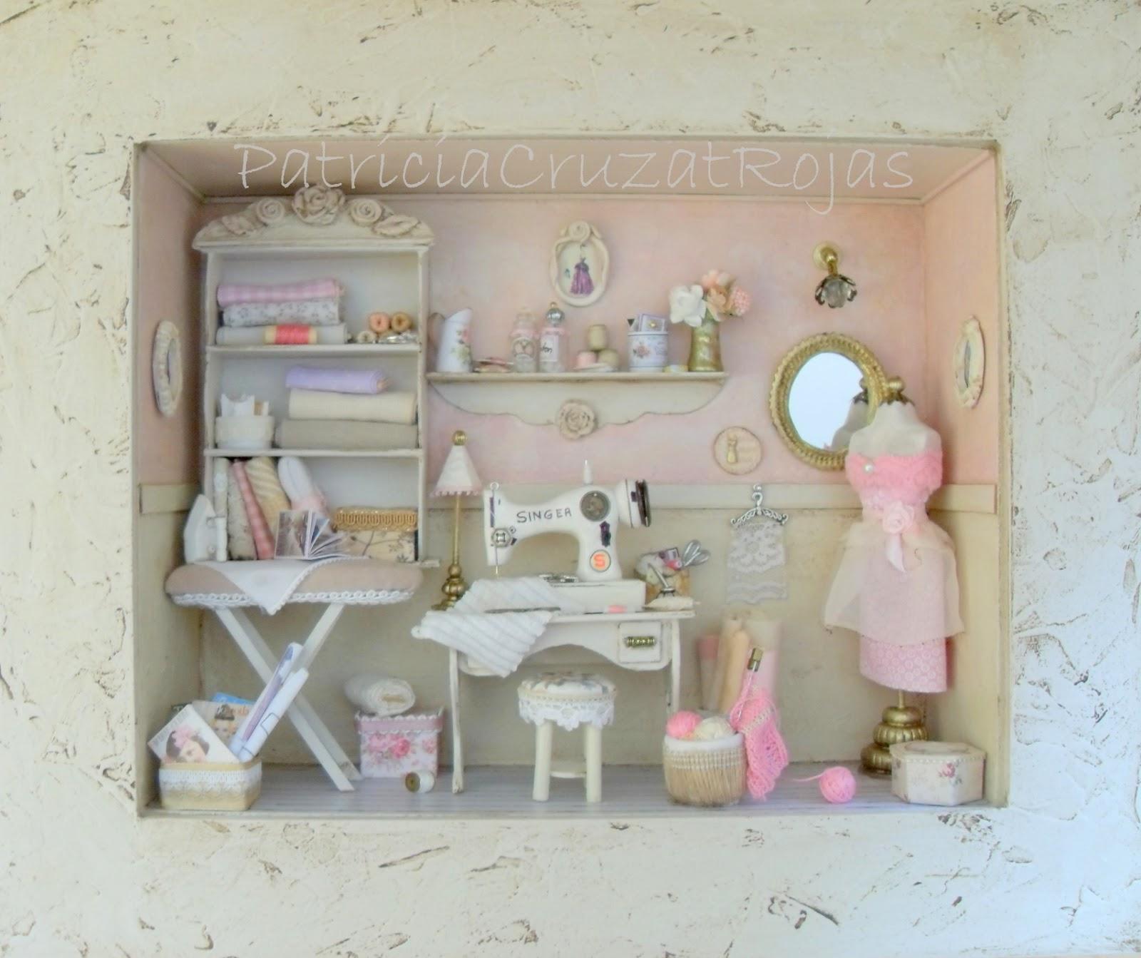 Patricia cruzat artesania y color cuadro cuarto de - Cuadros para habitacion ...