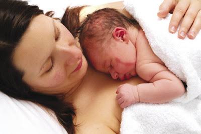 susukan bayi selepas dilahirkan