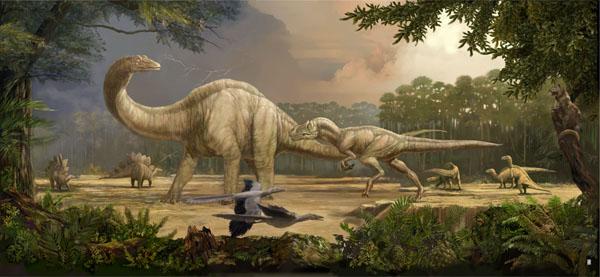 Dinosaurs Era Amazing Culture...