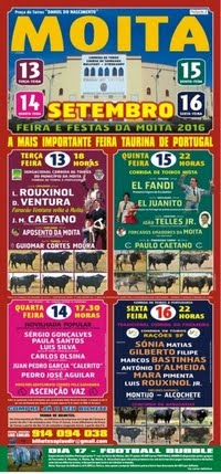 Moita do Ribatejo- Feira Taurina 2016