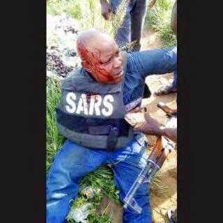 SARS Officer Who Brutally Killed Undergraduate While Pursuing A Notorious Yahoo-Yahoo Boy Arrested In Lagos