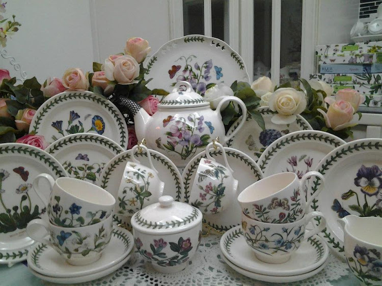 Portmeirion With English Garden Portmeirion Botanic Garden Tea Set