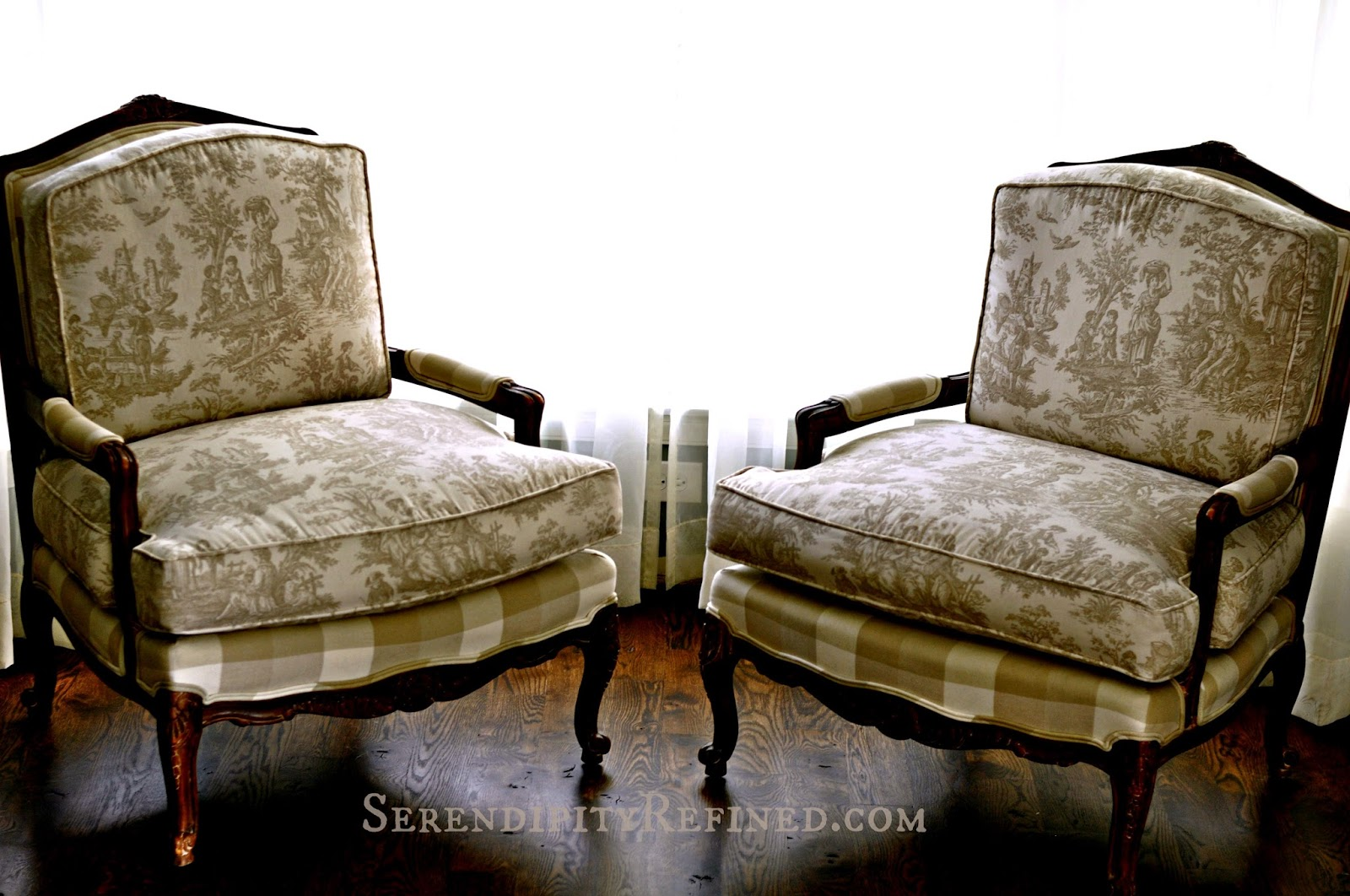 "Serendipity Refined Blog Milk Paint ""Stained"" French"