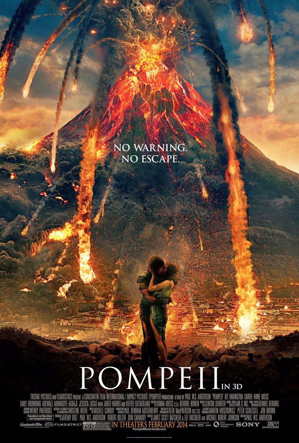 Pompeii Torrent Poster