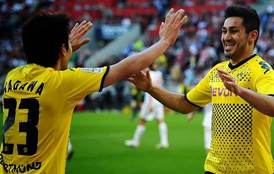 Gundogan Manchester United Transfer Borussia Dortmund 2014