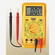 digital multimeter working process