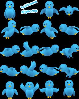 PÁSSARO DO TWITTER VOANDO NO SEU BLOG