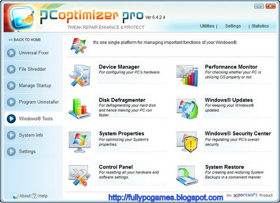 PC Optimizer Pro 6.4.2.4