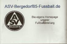 Offizielle Homepage der Fußballabteilung des ASV Bergedorf 85