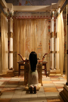 Queen Nefertari In Her Chambers