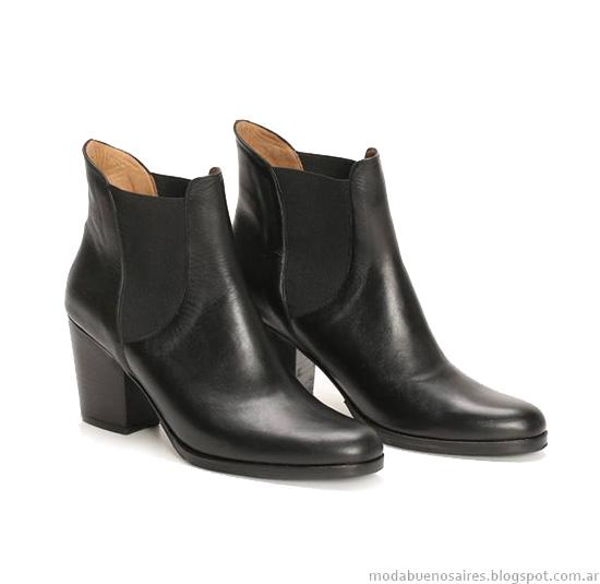 Ruben Cassion otoño invierno 2014 zapatos, botas y carteras-Moda invierno 2014.