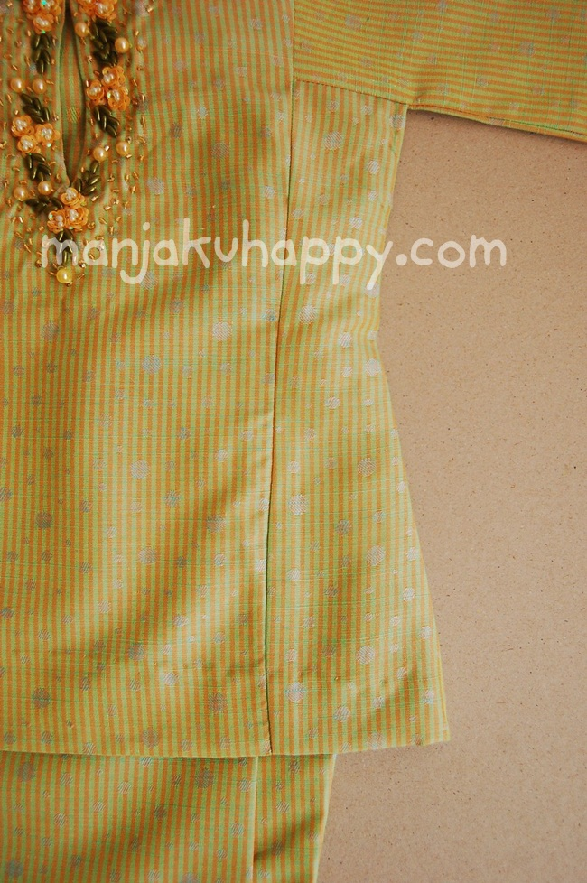 Exclusive Baju Kurung Pahang Klasik untuk bayi dan kanak-kanak Raya