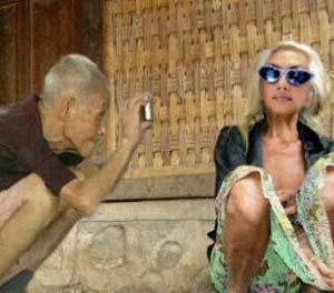 foto gokil kakek nenek