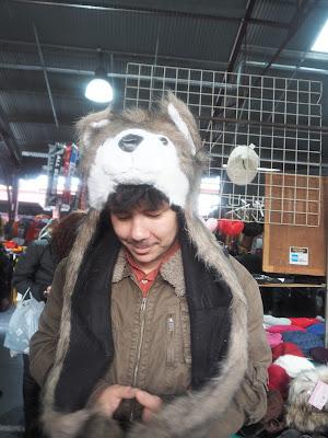 Adam in a wolf hat