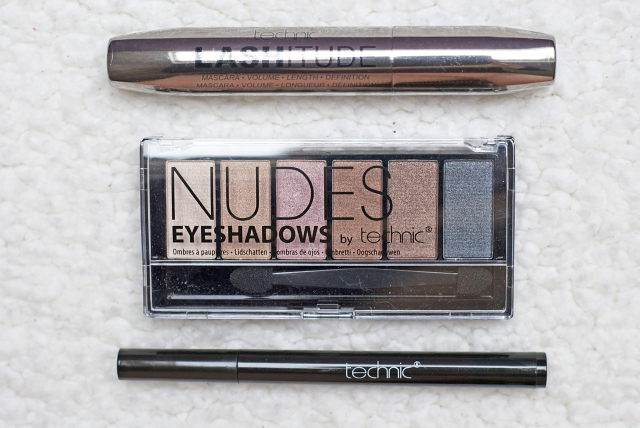 technic nudes eyeshadow palette
