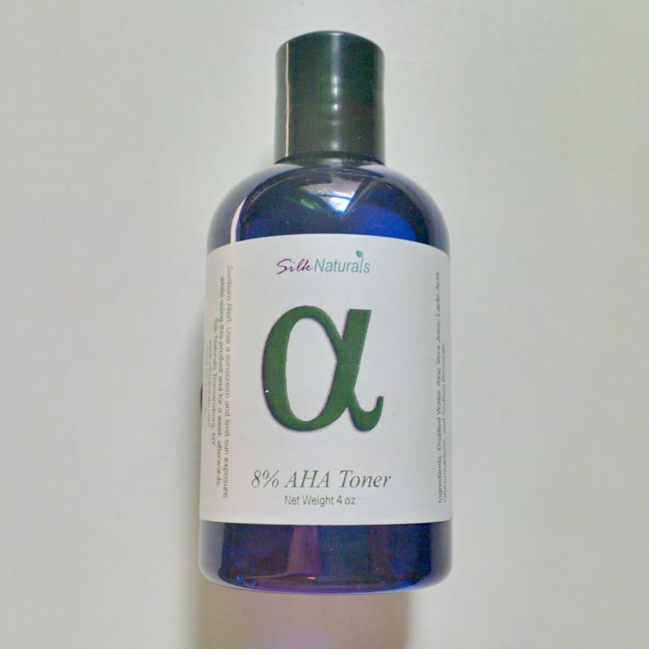Silk Naturals 8% AHA Toner