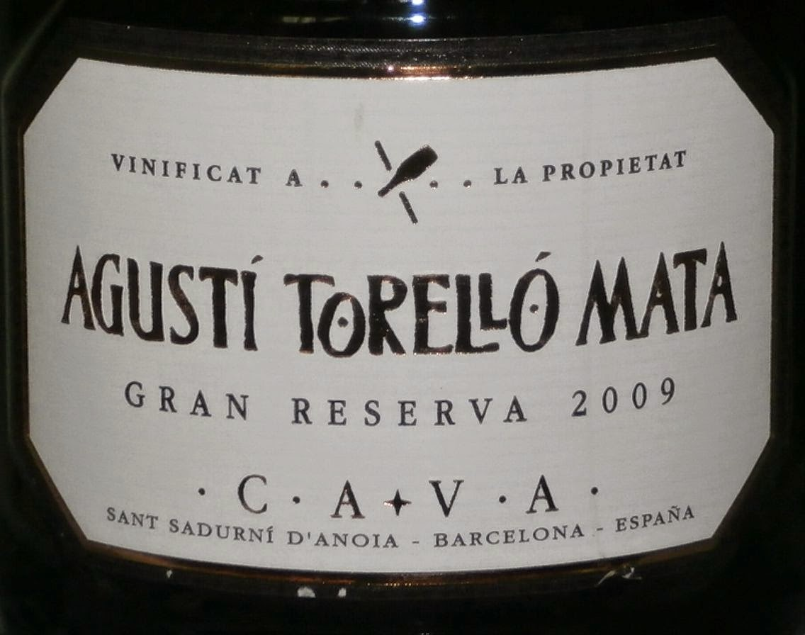 Enogourmet vinos y gastronom a cava gran reserva 2009 bodegas agusti torrell mata - Tiempo en sant sadurni d anoia ...