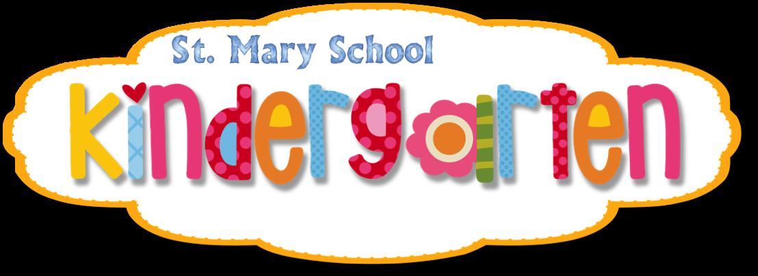 St. Mary Kindergarten 2015-2016