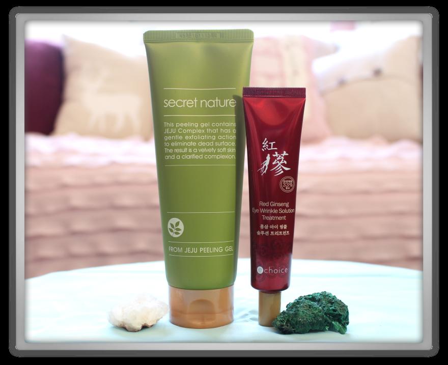 겟잇뷰티박스 by 미미박스 memebox beautybox Special #20 Superfood unboxing review box secret Nature jeju peeling e choice red ginseng eye treatment