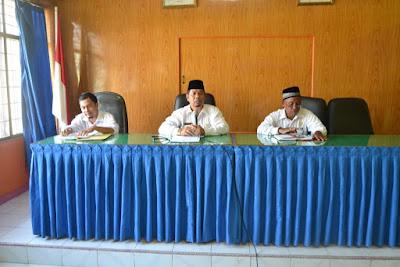 Seksi Penmad Kemenag Kota Tanjungbalai Serahkan SK Impasing