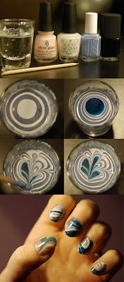 marble nail art-65