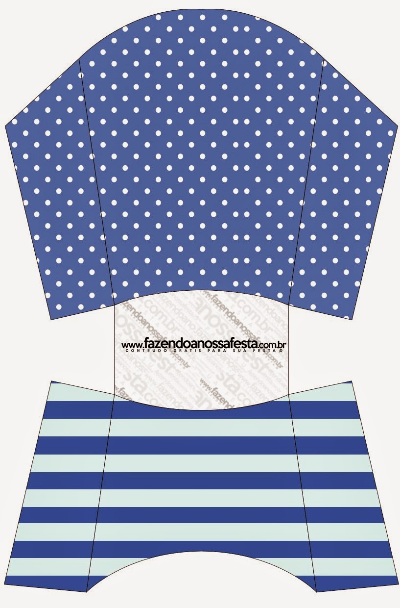 blue stripes and white polka dots free printable boxes is it