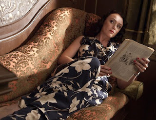 Laura Parmiter (KEELEY HAWES) in the BBC's The Lady Vanishes