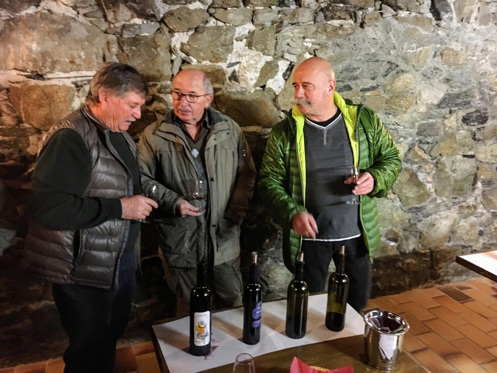 DIVICO vinifié par Paul Berthod pour l'Amicale des encaveurs de Bramois, propriétaire de la vigne