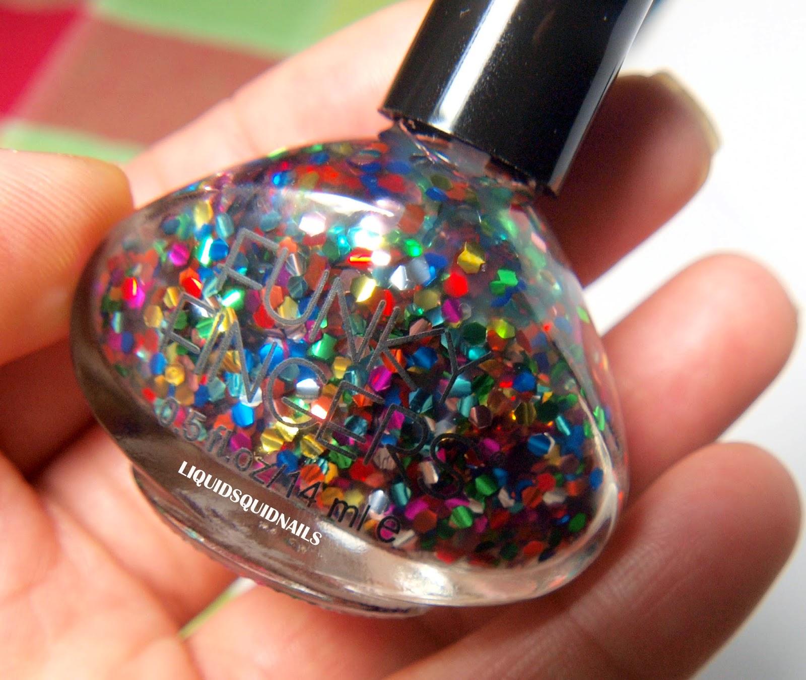 Day 43: Funky Fingers nail polish haul